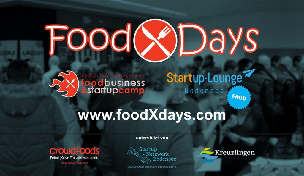 Flyer Food X Days Kreuzlingen/Konstanz