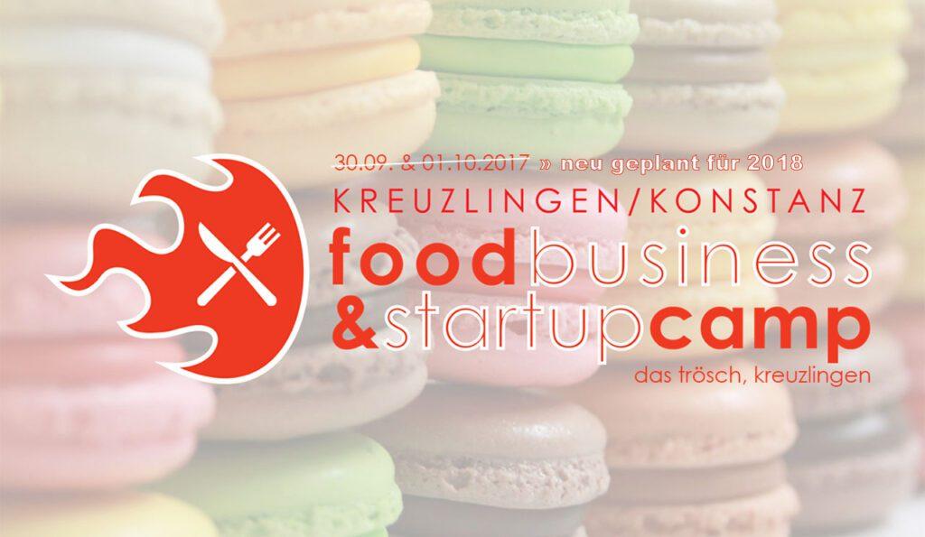 Food Business & Startup Camp: verschoben