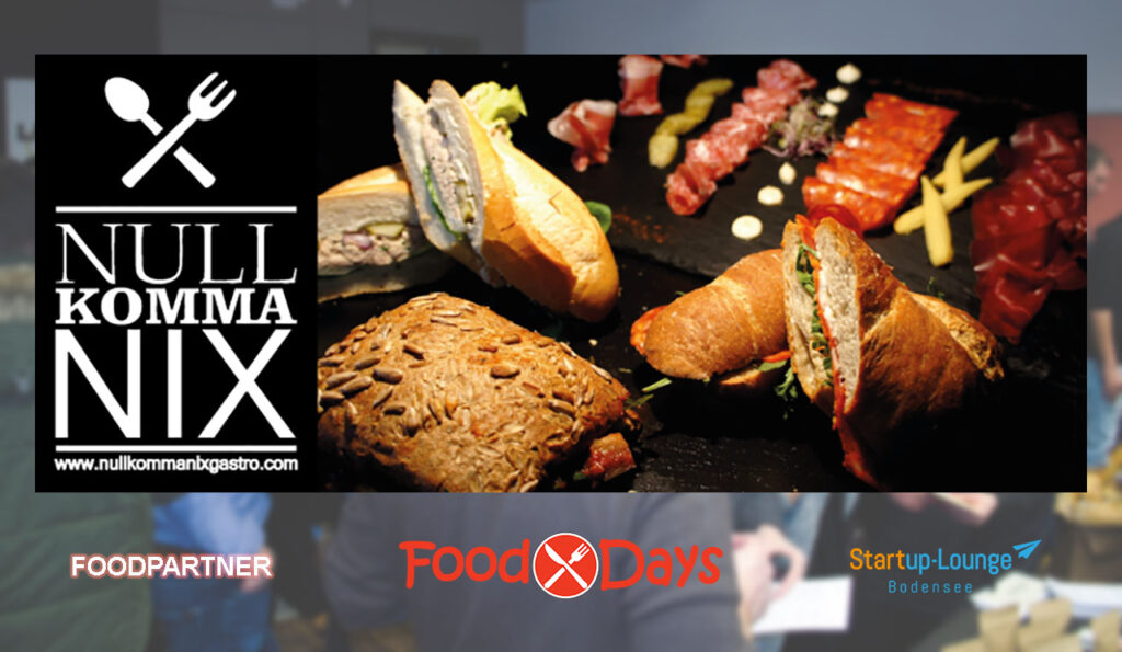 SULB Food-Partner: Nullkommanix Gastro
