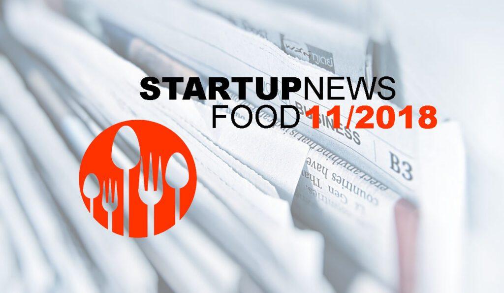 Startup-News Food 11/2018