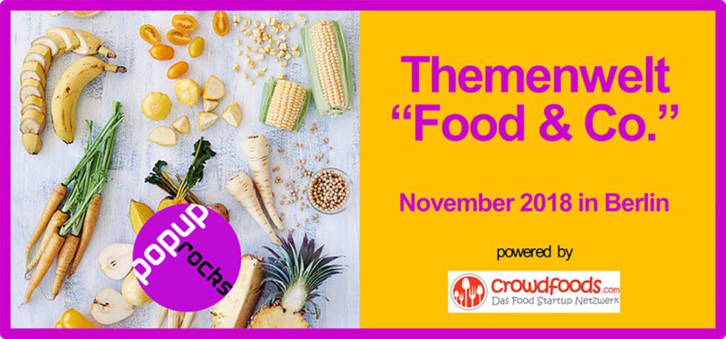 "popup.rocks: ""Themenwelt Food & Co."""