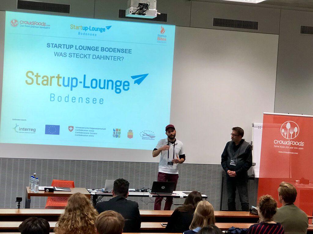 Vorstellung des Startup-Netzwerk Bodensee.