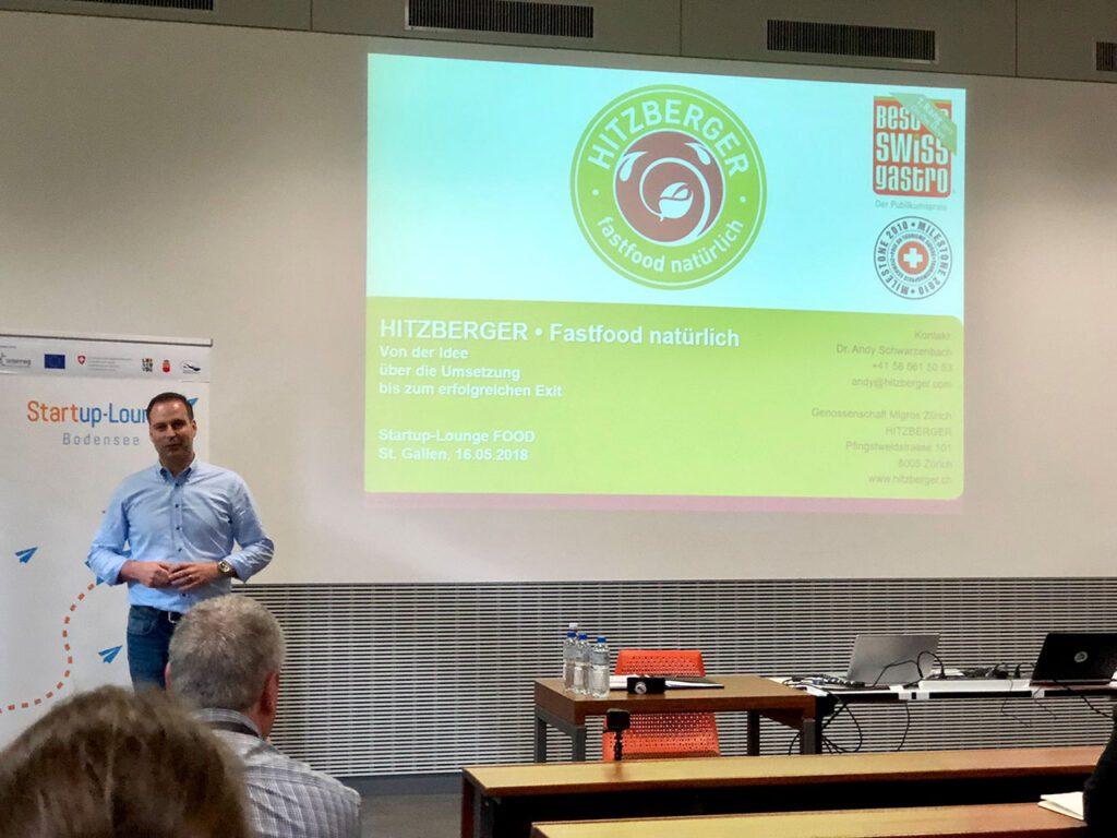 Keynote mit Andy Schwarzenbach von HITZBERGER.