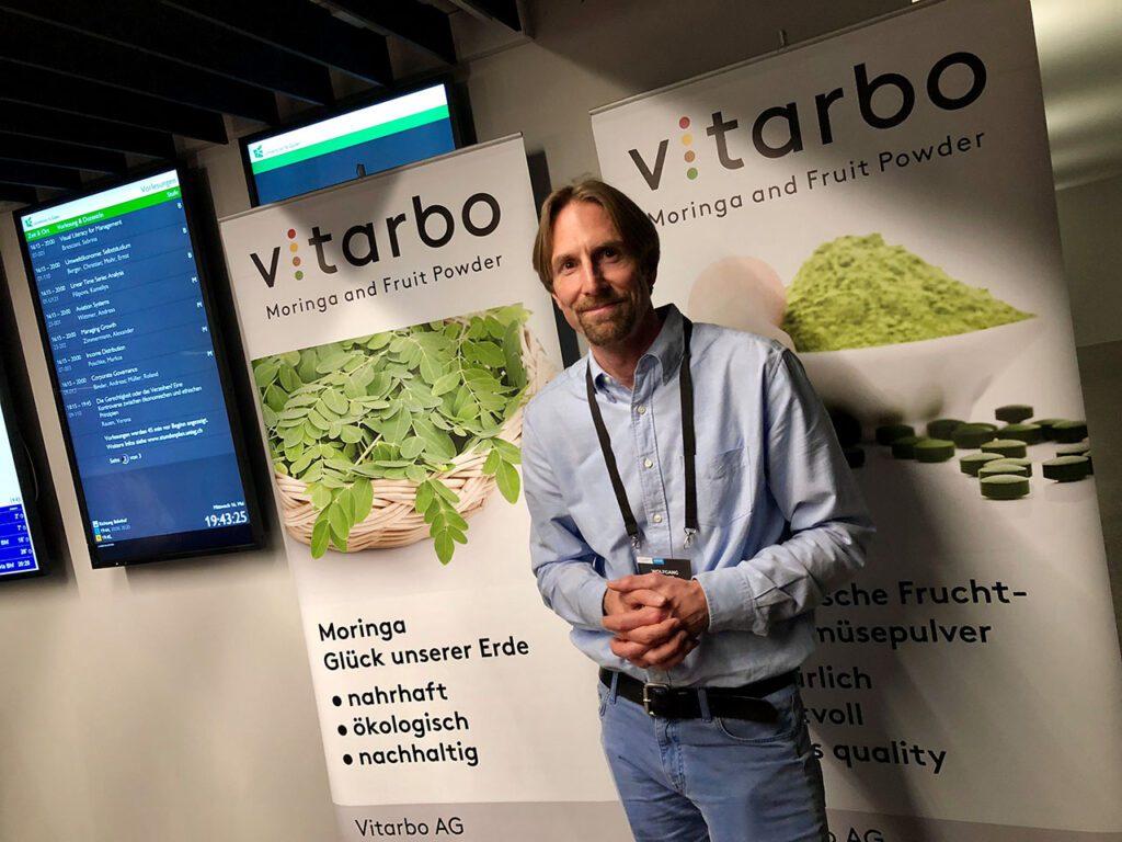 Wolfgang Moritz von der Vitarbo AG.