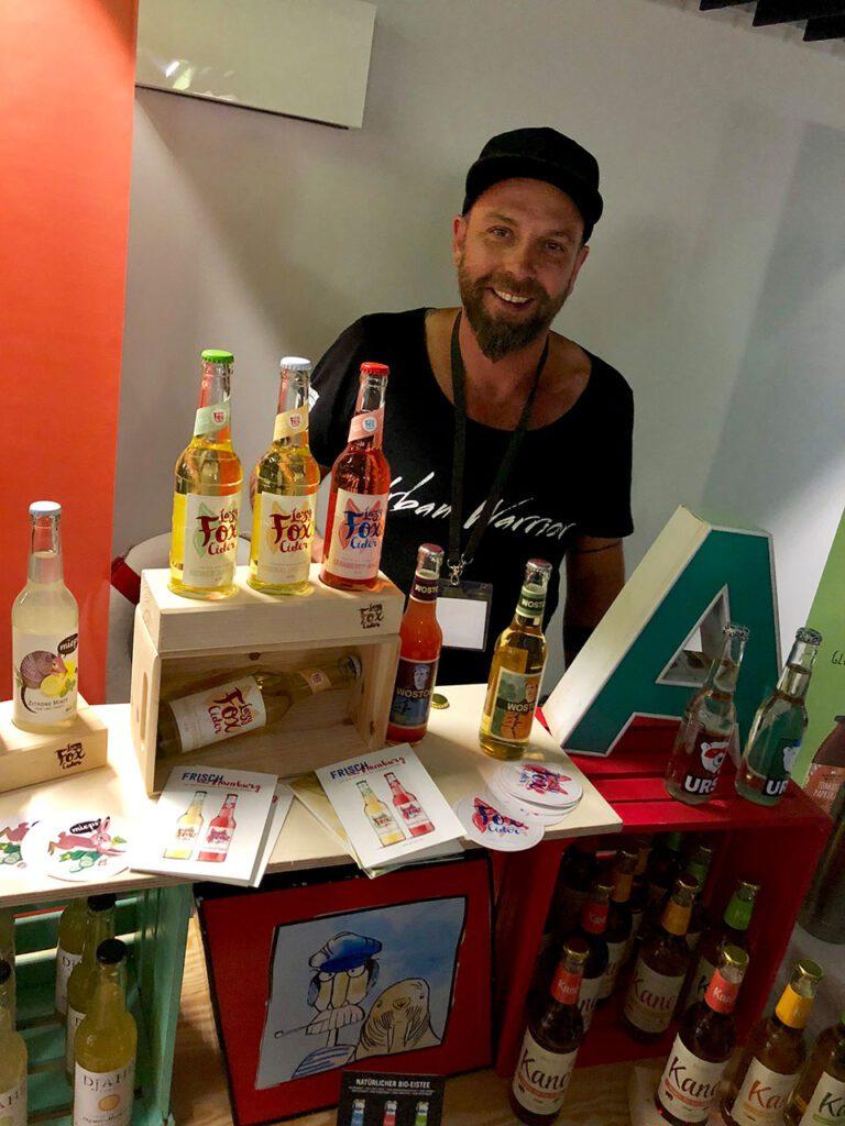André Metzner vom Piff Paff - Getränkeamt St. Gallen.