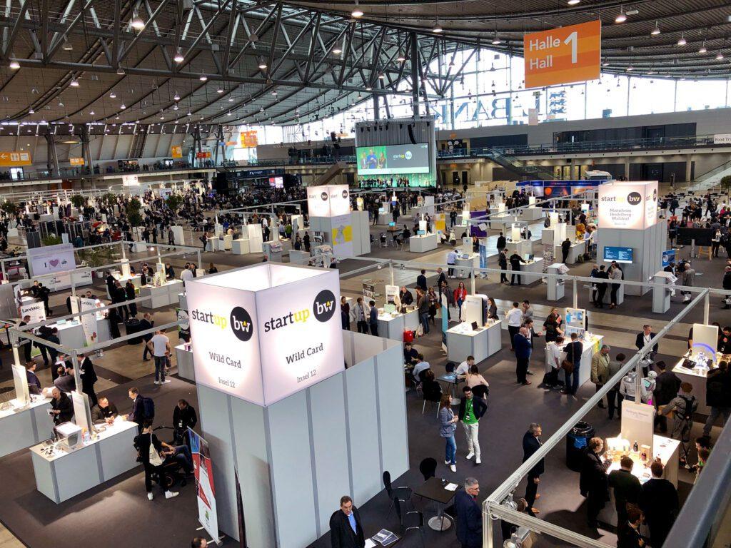 Startup BW Summit 19 in Halle 1