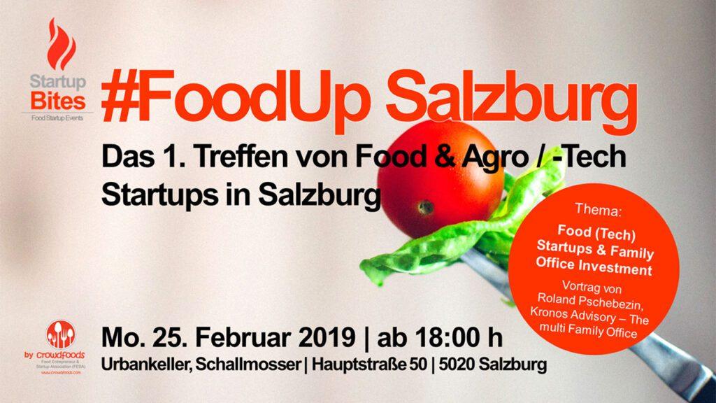 Ankündigung #FoodUp Salzburg 02/2019