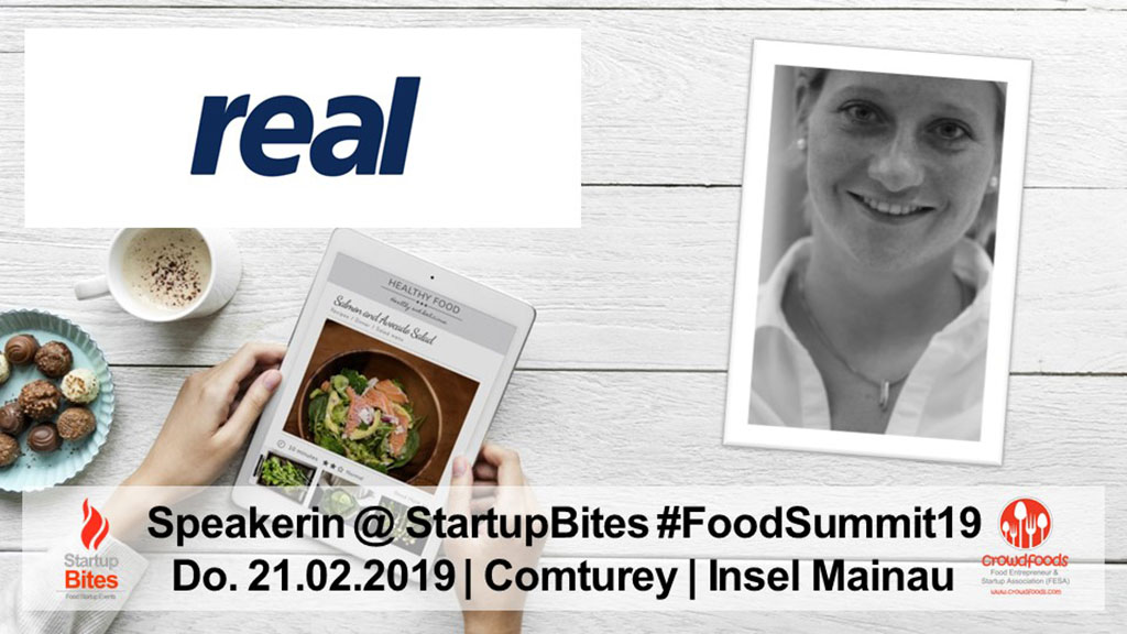 FoodSummit19 Speakerin: Chantal Schneidereit von real