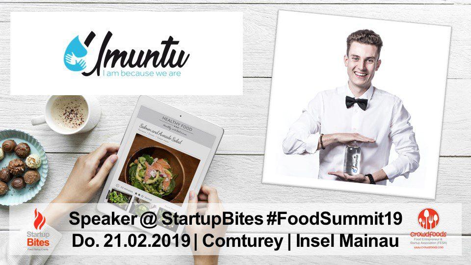 FoodSummit19 Speaker: Fabio Hüther von Umuntu