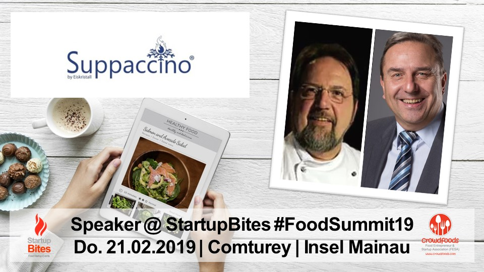 FoodSummit19 Speaker: Franz Rödl & Peter Faidt von Suppaccino