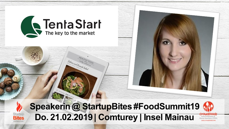 FoodSummit19 Speakerin: Nicole Schröer von TentaStart by Bilacon