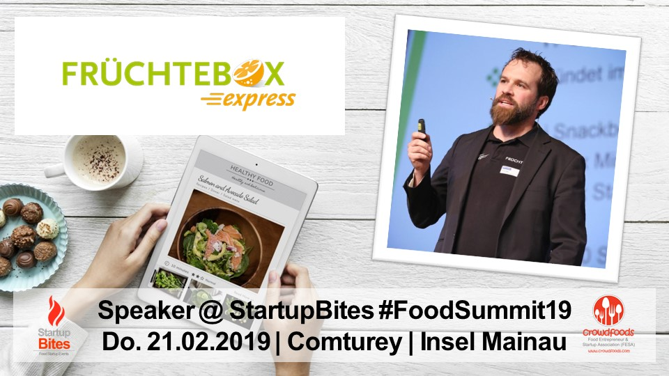 FoodSummit19 Speaker: Oliver Stahl von Früchtebox Express