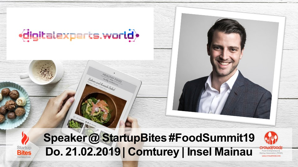 FoodSummit19 Speaker: Roger L. Basler de Roca von digitalexperts.world