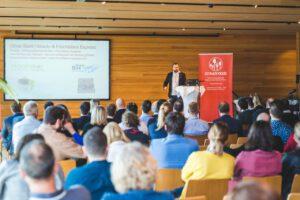Food Startup Konferenz mit Vorträgen am Vormittag