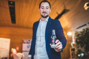 Gin Innovation aus Österreich von Wespa Gin Gründer Sandro Kolb, crowdfoods Botschafter in Salzburg