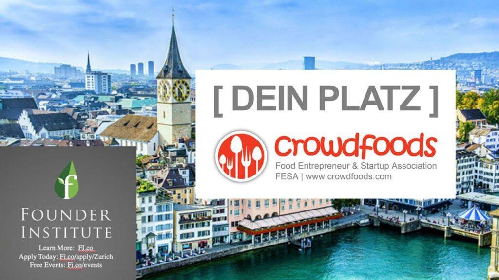 Dein Platz: Founder Institute Zurich